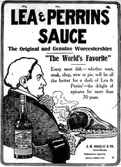 Vintage Ad #1,416: Worcestershire Sauce '11