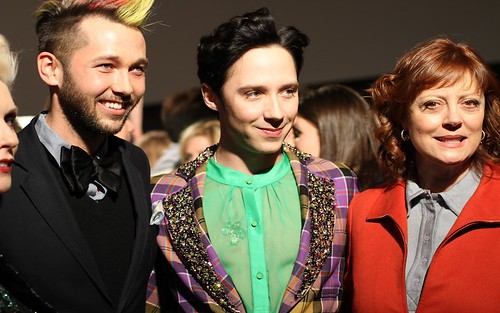 Debbie Harry, Chris Benz, Johnny Weir, and Susan Sarandon