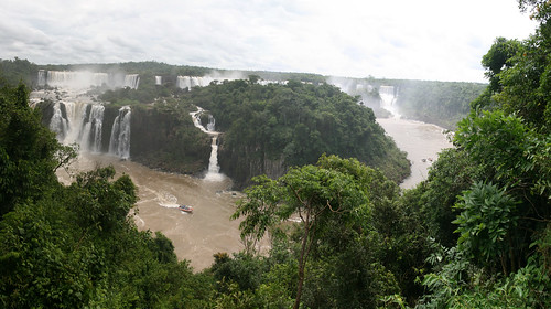 Wasserfallpanorama