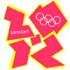 animated London Olympics logo