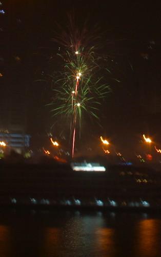 Fireworks in Chongqing