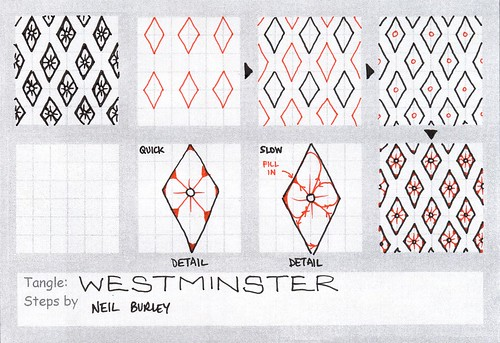Westminster - tangle pattern by perfectly4med