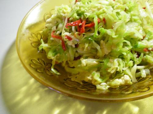 Stir-fried cabbage 3