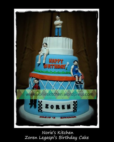 Norie's Kitchen - Zoren Legaspi's Birthday Cake