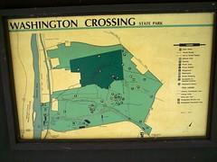 Washington Crossing in New Jersey