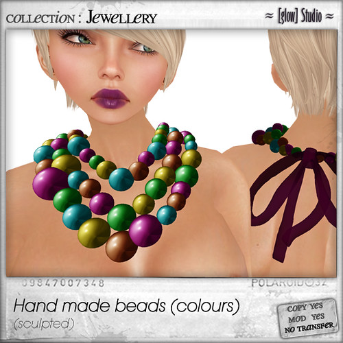 [ glow ] studio - hand made beads [colours]