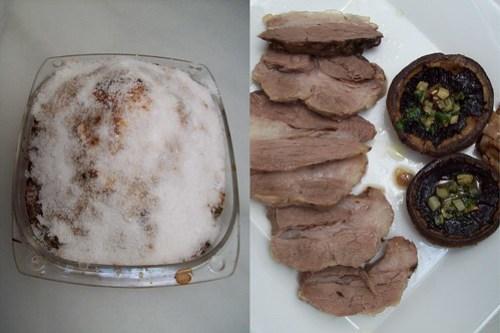 Lomo de cerdo a la sal