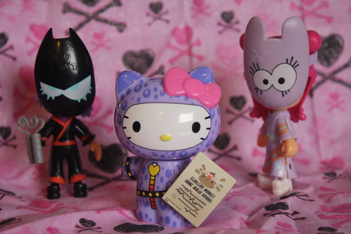 26/365 Hi Hi Puffy Ami Yumi & Hello Kitty Ninja Training