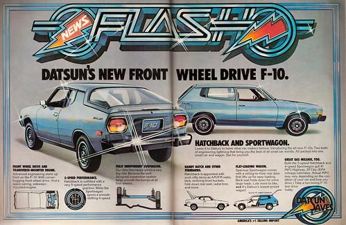 1976 Datsun F-10 Ad