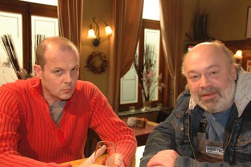 Waldek en Freddy in Ter Smissen