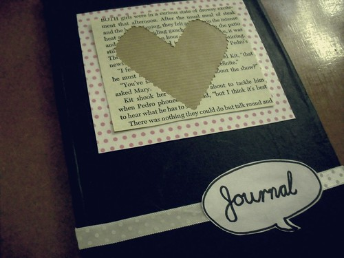 journal cover by me