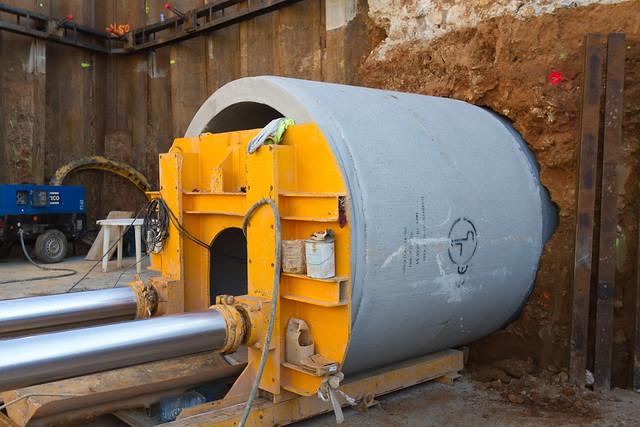 Hinca de tubos de hormigón - Detalle - 16-02-11