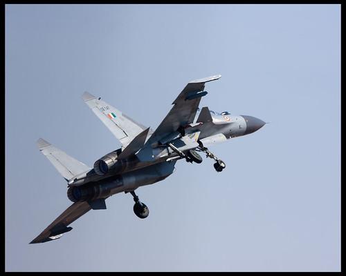 Sukhoi taking off