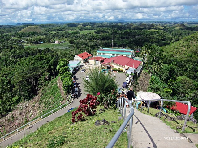 Chocolate Hills spread through Carmen, Sagbayan, Batuan