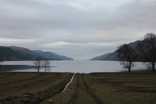 Scotland, Feb 2011, Loch Ness by InkSpot's Blot