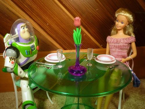 Buzz Lightyear and CrystalBarbie