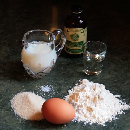 1 :: Crêpe ingredients