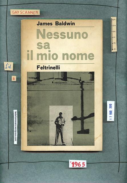 James Baldwin, Nessuno sa il mio nome. Feltrinelli 1965. Copertina