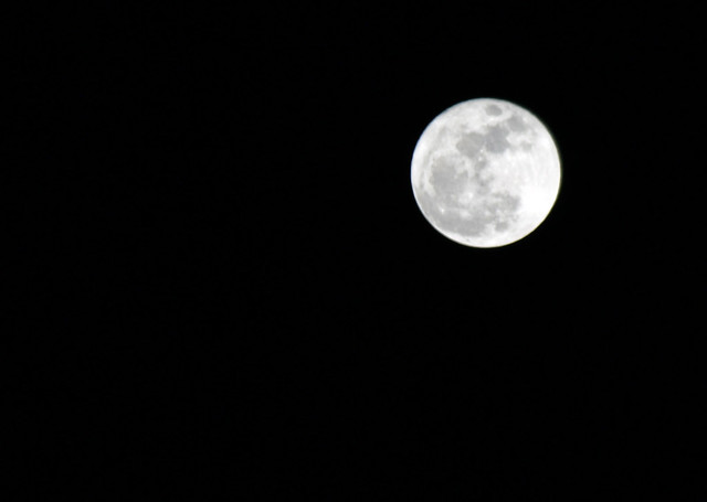 """The so-called """"supermoon"""""""