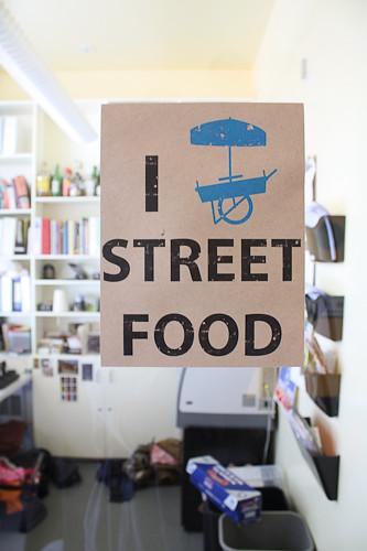 I [cart] street food