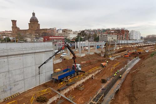 Zona estació de Sant Andreu - NORTE - 31-01-11