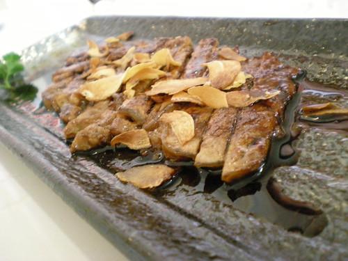 Terrayaki steak
