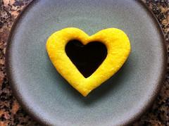 Bean Counter Bakery Gluten-free Raspberry Linzer Heart