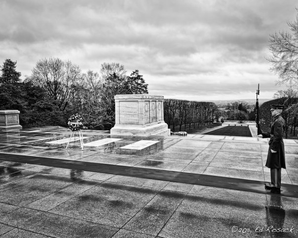 Tomb of the unknowns, Arlington National Cemetary