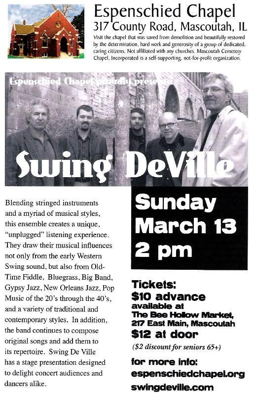 Swing DeVille 3-13-11 001