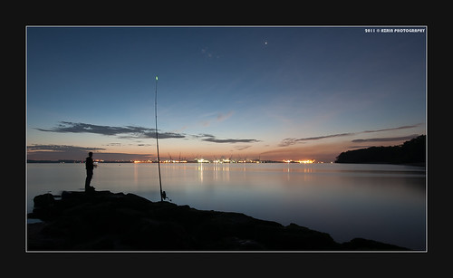 Fishing the stars... by Scholesville
