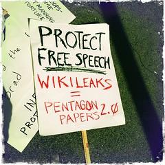 Protect Free Speech Wikileaks = Pentagon Paper...