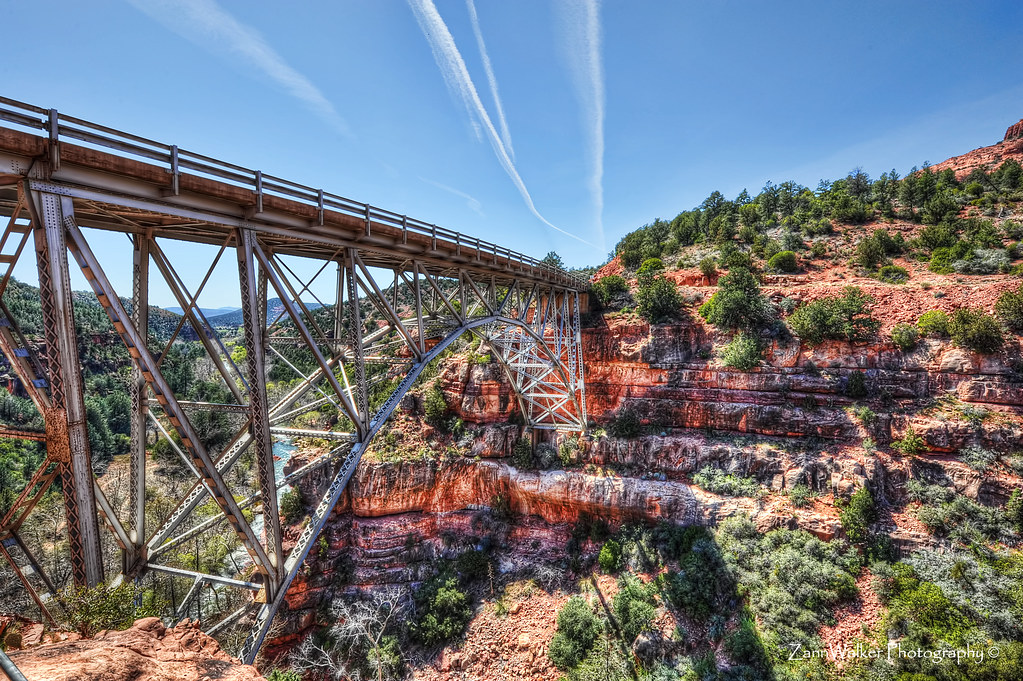 Midgley Bridge in Sedona