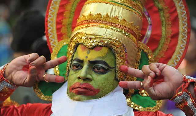 "Indian Man Celebrates ""Gudi Padwa"""