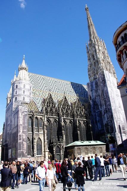 聖·史蒂芬大教堂 St. Stephen's Cathedral (Stephansdom)每次看都覺得很華麗又壯觀。