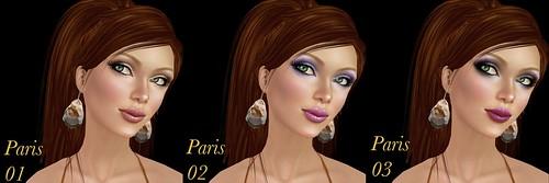 Chaisuki Paris makeups 1-3
