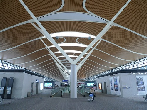 Pudong International Airport (departure lounge)