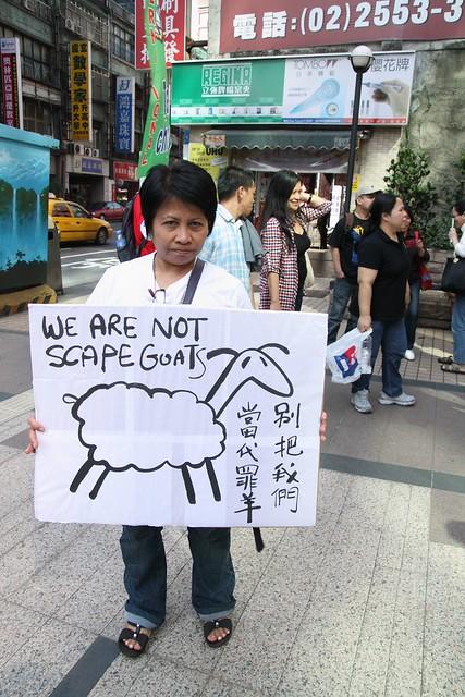 外交受挫 外勞不是替罪羊