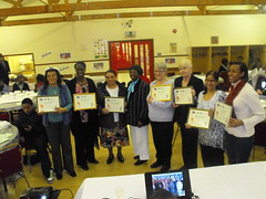 Street Champions receiving awards