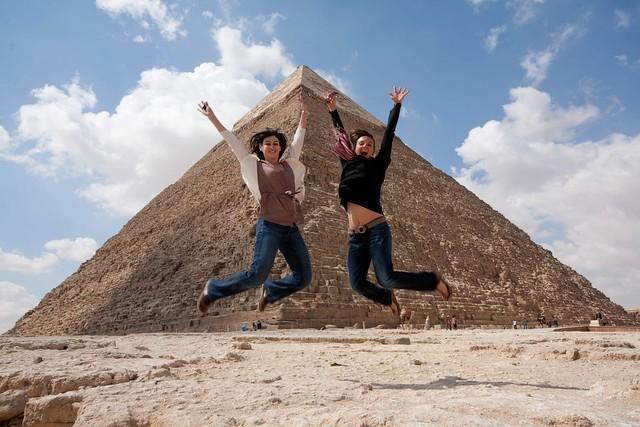 pyramid jump!