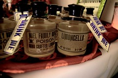 """Homemade Limoncello """"Alice"""" inspired Favors"""