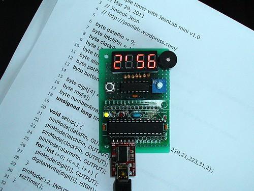 Simple timer running