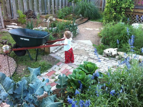 Daddy's Garden Helper
