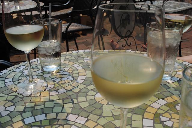 Sidewalk Cafe Wine