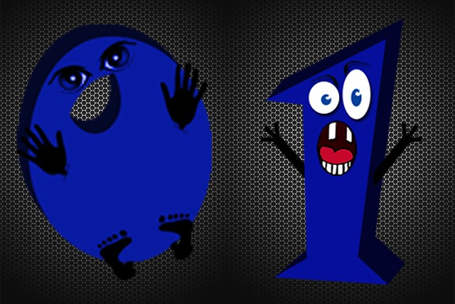 CTRL Byte Logo Characters