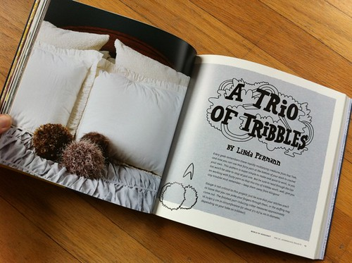 Trio of Tribbles by Linda Permann