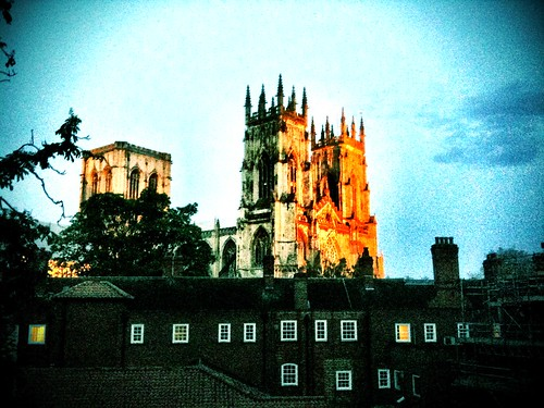 York Minster at dusk