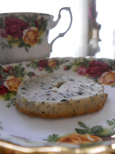 Earl Grey tea shortbread