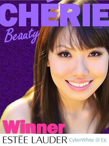 Cherie Lee - Winner of Estee Lauder CyberWhite Blogging Challenge 2011