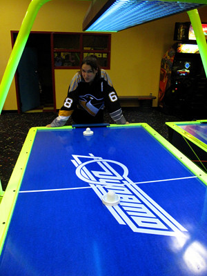 Air Hockey at Funfest
