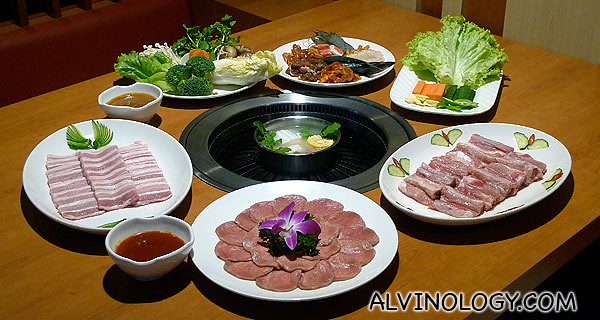The 6 feature dishes at Crystal Jade Korean BBQ